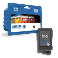 Canon B210C ready Remanufactured Canon BX-20 Black Ink Cartridge (0896A002AA) Image
