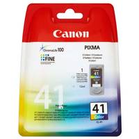 Original Canon CL-41 Colour High Capacity Ink Cartridge (0617B001) Image