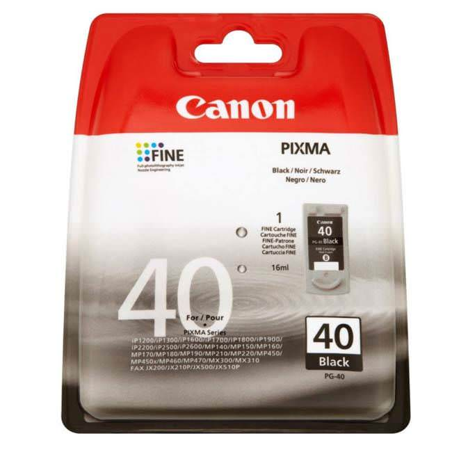 Canon PG-40 Original Inkjet Cartridge