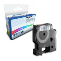 Dymo LabelManager 300 ready Compatible Dymo 40910 Black on Clear 9mm x 7m Label Cartridge (S0720670) Image
