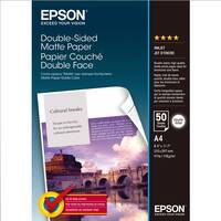Original Epson A4 Double-Sided Matte Paper 178gsm - 50 Sheets (C13S041569) Image