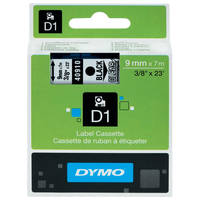 Dymo LabelManager 300 ready Original Dymo 40910 Black on Clear 9mm x 7m D1 Label Cartridge (S0720670) Image