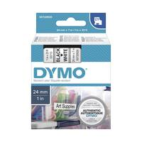 Dymo LabelManager 450 ready Original Dymo 53713 Black on White 24mm x 7m D1 Label Cartridge (S072093) Image
