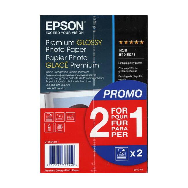 "Epson 8 Color Inkjet Print Epson Premium Semigloss Photo: Epson 10cm X 15cm (6"" X 4"") Premium Glossy Photo Paper"