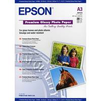 Original Epson A3 Premium Glossy Photo Paper 255gsm 20 Sheets (C13S041315) Image