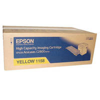 Epson AcuLaser C2800DTN ready Original Epson S051158 Yellow High Capacity Toner Cartridges (C13S051158) Image