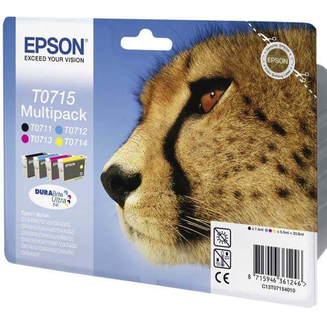 Epson T0711 T0712 T0713 T0714 Original Ink Cartridge
