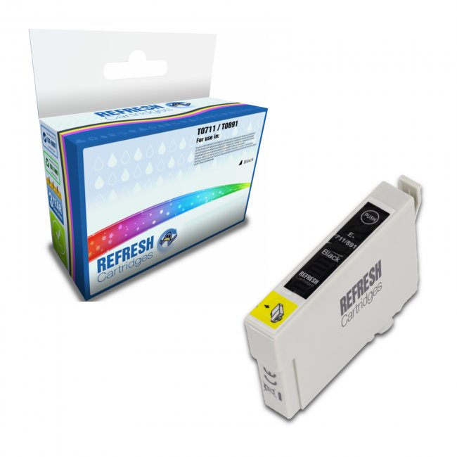 T0711 Epson T0891 Remanufactured Inkjet Cartridge