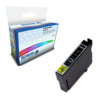 Remanufactured Epson 18XL/T1811 Black High Capacity Ink Cartridge (C13T18114010) Image