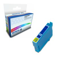 Remanufactured Epson 18XL/T1812 Cyan High Capacity Ink Cartridge (C13T18124010) Image