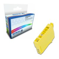 Remanufactured Epson 18XL/T1814 Yellow High Capacity Ink Cartridge (C13T18144010) Image