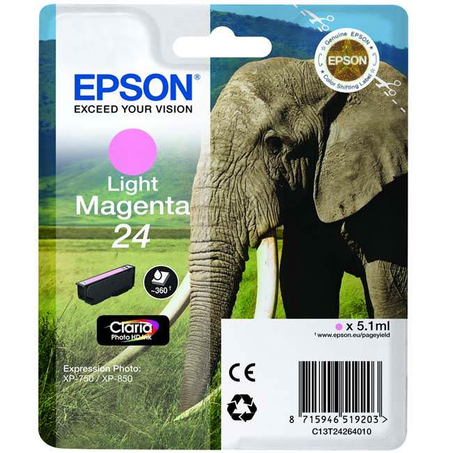 Epson T2426 T24 Original Inkjet Cartridge