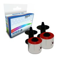 Frama OfficeMail ready Compatible Frama 230-03-076 Red Franking Ink Ribbon Twinpack (10276-801) Image