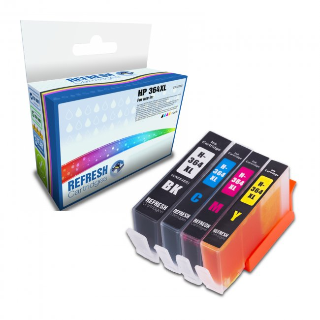hp 364xl compatible ink cartridge multipack. Black Bedroom Furniture Sets. Home Design Ideas