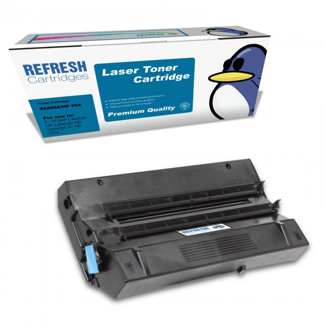 hp 92295a 95a remanufactured toner cartridge