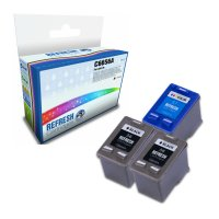 Everyday Valuepack of 3 Remanufactured HP 56 and HP 57 Ink Cartridges (C6656A & C6657A) Image