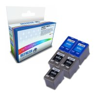 Super Saver Valuepack of 5 Remanufactured HP 56 and HP 57 Ink Cartridges (C6656A & C6657A) Image