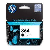 HP PhotoSmart 6525 e-All-in-One ready Original HP 364 Black Ink Cartridge (CB316EE) Image
