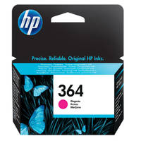 HP PhotoSmart 6525 e-All-in-One ready Original HP 364 Magenta Ink Cartridge (CB319EE) Image