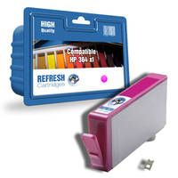 HP PhotoSmart 6525 e-All-in-One ready Compatible Hp 364XL Magenta High Capacity Ink Cartridge (CB324EE) - Without Chip; please click for instructions. Image