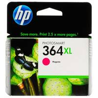 HP PhotoSmart 6525 e-All-in-One ready Original HP 364XL Magenta High Capacity Ink Cartridge (CB324EE) Image