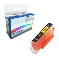 HP PhotoSmart 6525 e-All-in-One ready Compatible HP 364XL Yellow High Capacity Ink Cartridge (CB325EE) Image