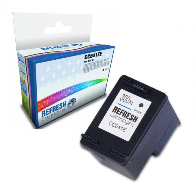 hp cc641ee 300xl remanufactured inkjet cartridge. Black Bedroom Furniture Sets. Home Design Ideas