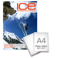 Ice Premium Satin A4 Professional Inkjet Photo Paper 260gsm - 25 Sheets Image