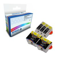 Kodak ESP 9250 ready Everyday Valuepack of Compatible Kodak 10XL & 10C Ink Cartridges (3947058 & 3947066) Image