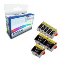 Kodak ESP 9250 ready Super Saver Valuepack of Compatible Kodak 10XL & 10C Ink Cartridges (3947058 & 3947066) Image