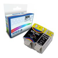 Kodak ESP C315 ready Basic Valuepack of Compatible Kodak 30XL/30CL Ink Cartridges (3952363 & 8898033) Image