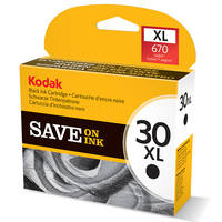 Kodak ESP C315 ready Original Kodak 30XL High Capacity Black Ink Cartridge (3952363) Image
