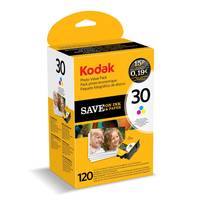 Kodak ESP C315 ready Original Kodak 30CL Colour Ink Cartridge & 120 Sheets of Paper (3954856) Image