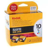 Kodak ESP 9250 ready Original Kodak 10C Colour Ink Cartridge Twinpack (3958022) Image