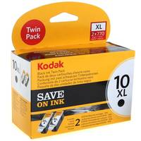 Kodak ESP 9250 ready Original Kodak 10XL Black Ink Cartridge Twinpack (3958014) Image