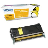 Lexmark C532dn ready Remanufactured Lexmark C5240YH High Capacity Yellow Toner Cartridge (00C5240YH) Image