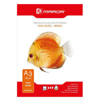 Mirror High Gloss A3 Premium Plus Photo Paper 180gsm - 25 Sheets Image