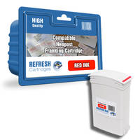 Compatible Neopost IJ90/IJ110 Red Franking Ink Cartridge (300204) Image
