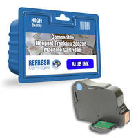 Compatible Neopost 300206 Blue Franking Ink Cartridge (4144151Y) Image