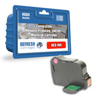 Compatible Neopost 300206 Red Franking Ink Cartridge (4144151Y) Image