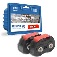 Compatible Neopost 300279 Red Ink Ribbon Twinpack (300279) Image