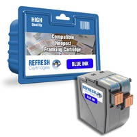 Compatible Neopost 300673 Blue Franking Machine Ink Cartridge (300673) Image