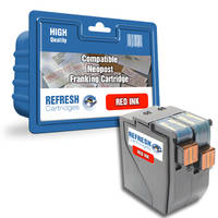 Compatible Neopost 300842 Red Franking Machine Ink Cartridge (300842) Image