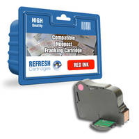 Compatible Neopost 300895 Red Franking Machine Ink Cartridge (300895) Image