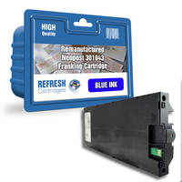 Remanufactured Neopost 301043 Blue Franking Ink Cartridge (4150720R) Image