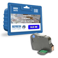 Compatible Neopost 310048 Blue Franking Machine Ink Cartridge (310048) Image