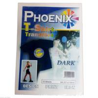 Phoenix Iron On A4 T-Shirt Transfer Paper for Dark T-Shirts - 10 Sheets Image