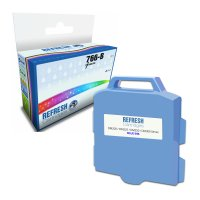 Compatible Pitney Bowes 766-B Blue Franking Machine Ink Cartridge (766-B) Image