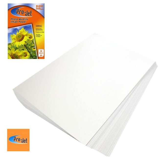 glossy inkjet paper Professional quality glossy photo paper for epson, canon, and hp inkjet printers.