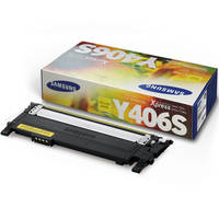 Samsung CLP-365 ready Original Samsung Y406S Yellow Toner Cartridge (CLT-Y406S/ELS) Image